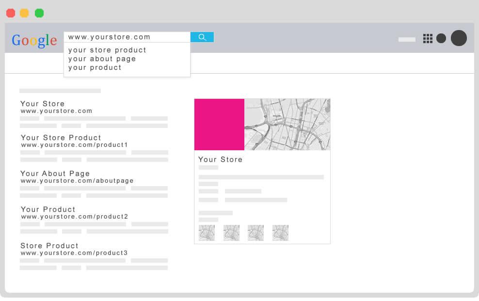 بهینه سازی فروشگاه برای موتورهای جستجو