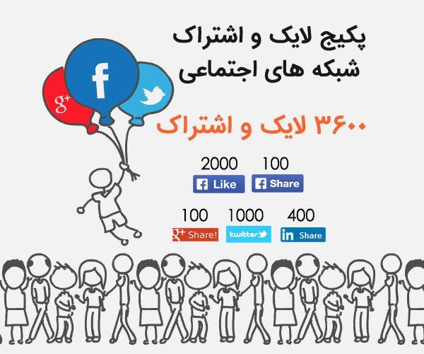 seo social 2 600x500 - 3600 لایک و اشتراک شبکه های اجتماعی - فیسبوک، گوگل پلاس، توییتر