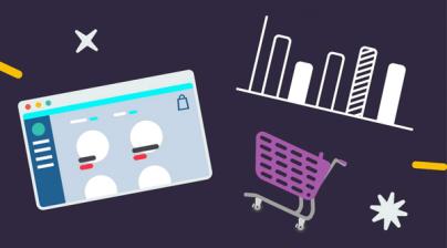 ecommerce store on a shoestring budget 404x224 - چگونگی راه اندازی فروشگاه اینترنتی با بودجه کم و رسیدن به موفقیت
