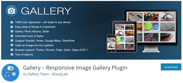 gallery ghozylab wordpress portfolio plugin - 12 افزونه نمونه کار وردپرس و پلاگین گالری عکس حرفه ای - Portfolio