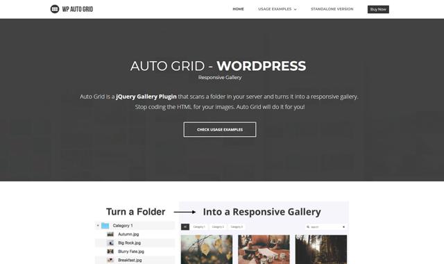 wp auto grid wordpress portfolio plugin - 12 افزونه نمونه کار وردپرس و پلاگین گالری عکس حرفه ای - Portfolio