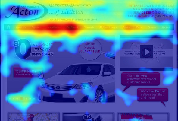 How to Use a Heat Map - آموزش دیجیتال مارکتینگ رایگان با 12 قدم [حرفه ای شوید] نکات 2019